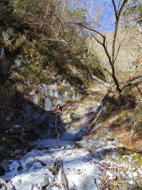 鍋割山(雨山峠~鍋割峠)コースガイド 寄沢なめ滝【登山口ナビ】