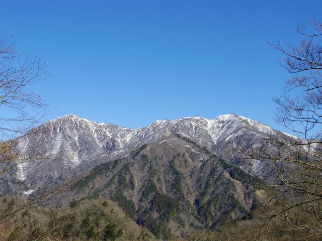 鍋割山(雨山峠~鍋割峠)コースガイド 蛭ヶ岳と丹沢山の眺望【登山口ナビ】