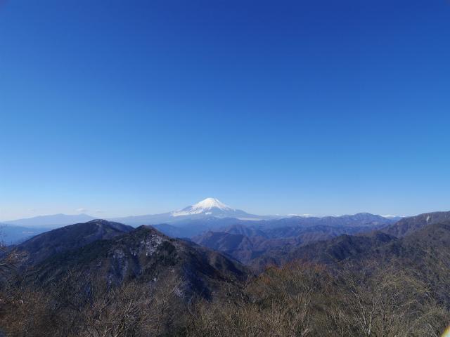鍋割山(雨山峠~鍋割峠)コースガイド 富士山の眺望【登山口ナビ】