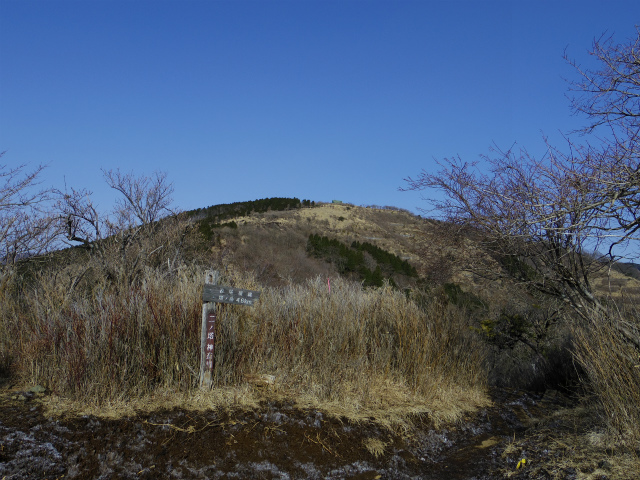 塔ノ岳(二ノ塔尾根) 登山口コースガイド 二ノ塔山頂からの三ノ塔【登山口ナビ】