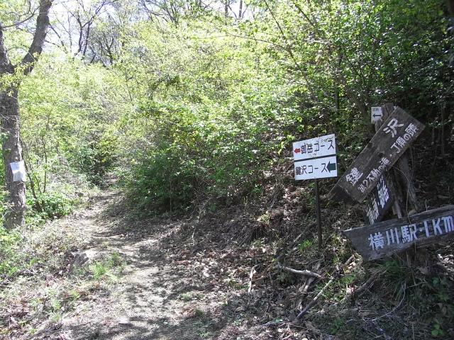 裏妙義・丁須の頭(御岳コース) 登山口コースガイド 鍵沢コース入口【登山口ナビ】