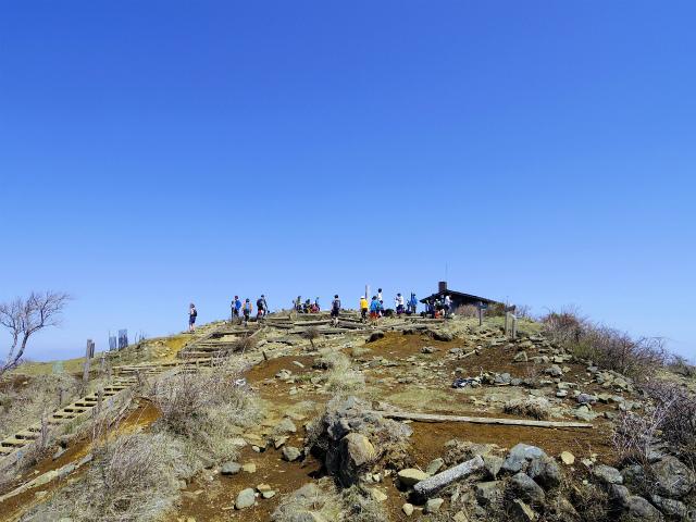 塔ノ岳(政次郎尾根・天神尾根) 登山口コースガイド 塔ノ岳山頂【登山口ナビ】