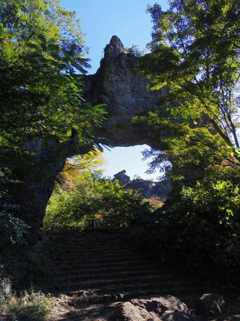 表妙義・金洞山(中ノ岳~鷹戻し~相馬岳) 登山口コースガイド 第四石門【登山口ナビ】