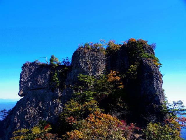表妙義・金洞山(中ノ岳~鷹戻し~相馬岳) 登山口コースガイド 中ノ岳【登山口ナビ】