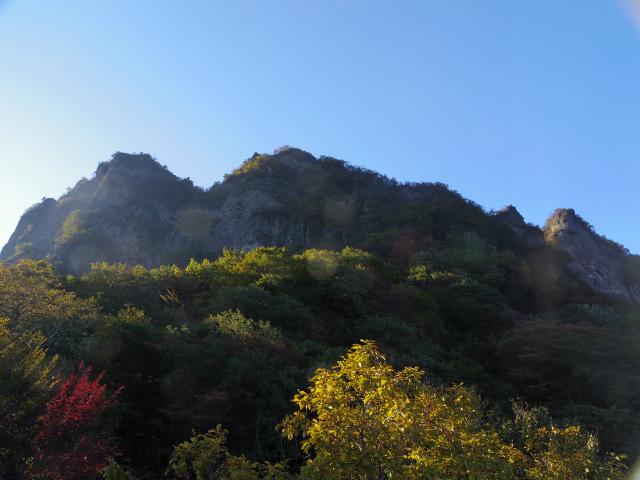表妙義・金洞山(中ノ岳~鷹戻し~相馬岳) 登山口コースガイド 大砲岩分岐【登山口ナビ】