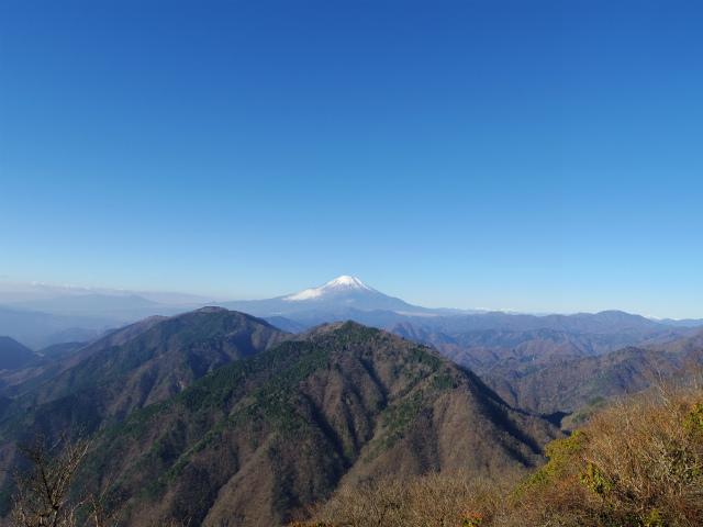 鍋割山(後沢右岸コース) コースガイド 富士山眺望【登山口ナビ】