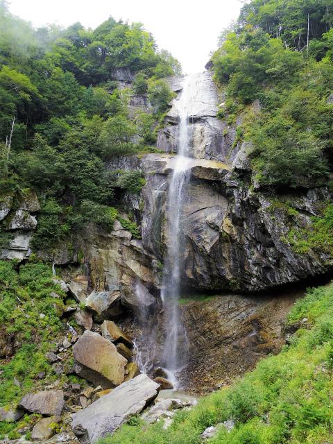 鳳凰三山(青木鉱泉~ドンドコ沢コース) 五色滝【登山口コースガイド】