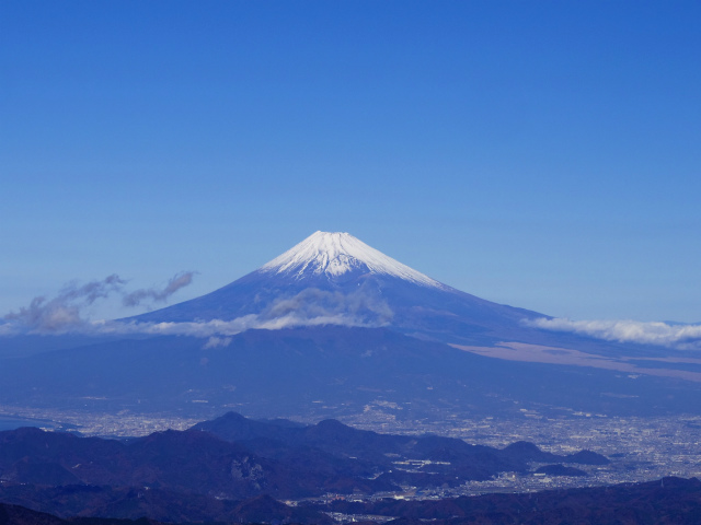 富士山が良く見える山 登山口コースガイド 天城山・万二郎岳展望台【登山口ナビ】