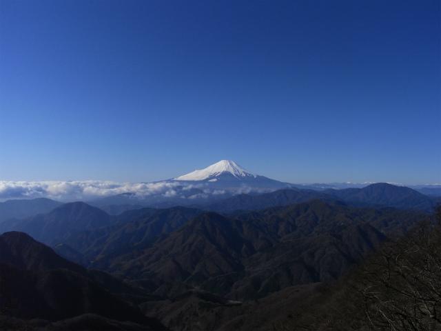 富士山が良く見える山 登山口コースガイド 檜洞丸北西斜面【登山口ナビ】