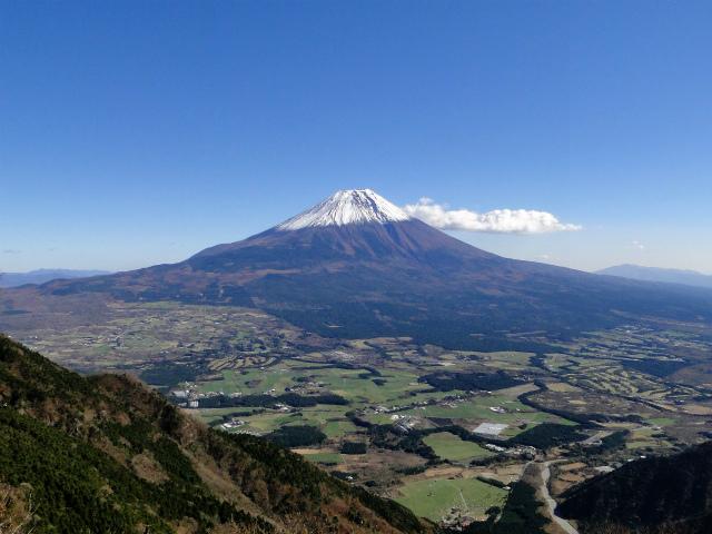 富士山が良く見える山 登山口コースガイド 毛無山山頂【登山口ナビ】