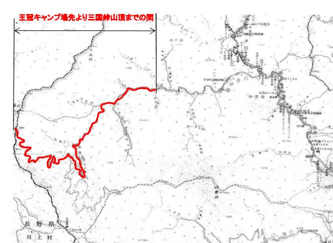 秩父市道大滝幹線17号線(旧中津川林道)の通行止区間【登山口ナビ】