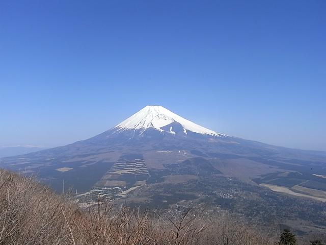 富士山が良く見える山 登山口コースガイド 愛鷹山・越前岳富士見台【登山口ナビ】