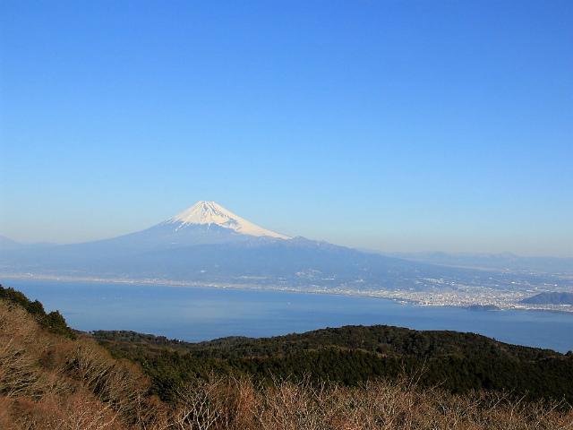 富士山が良く見える山 登山口コースガイド 金冠山山頂【登山口ナビ】