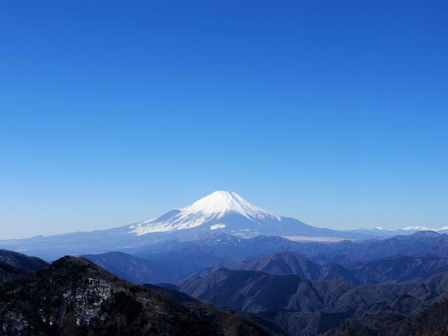 富士山が良く見える山 登山口コースガイド 鍋割山山頂【登山口ナビ】