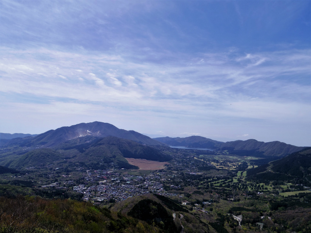 金時山(金時神社コース) 山頂からの箱根・大涌谷・芦ノ湖【登山口コースガイド】