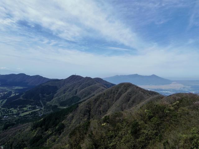 金時山(金時神社コース) 山頂からの箱根外輪山【登山口コースガイド】