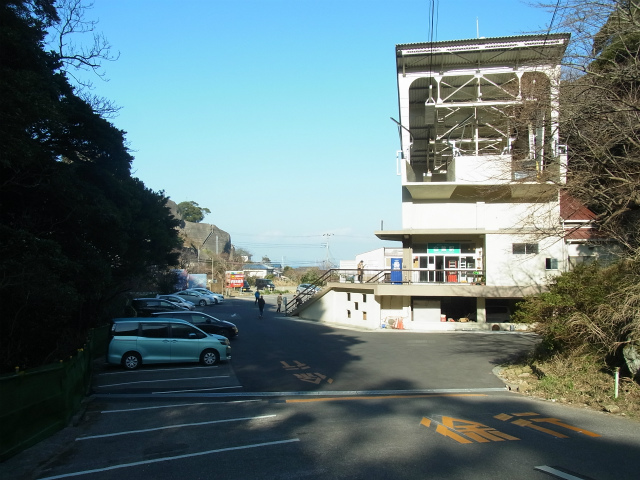 5位 鋸山ロープウェー山麓駅(房総丘陵)