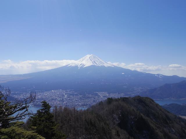 御坂黒岳(新御坂トンネル河口湖口) 富士山展望台【登山口コースガイド】