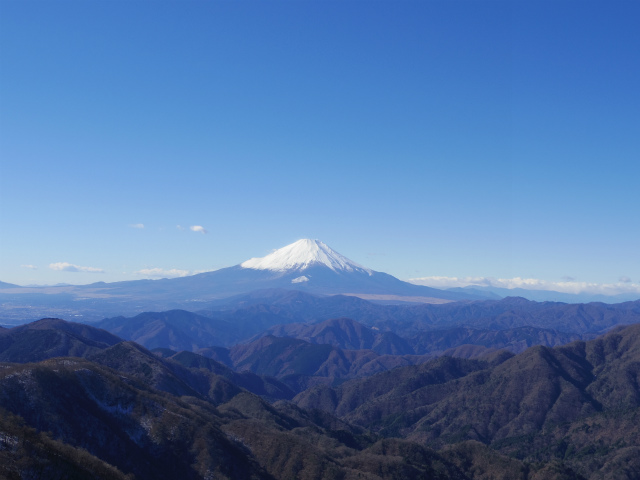 富士山が良く見える山 登山口コースガイド 塔ノ岳山頂【登山口ナビ】