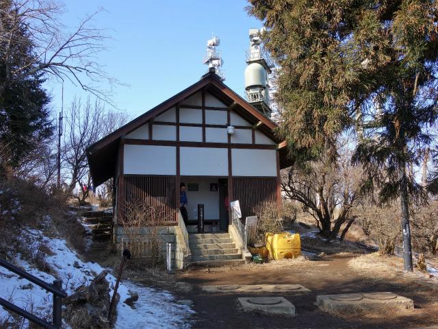 大山(ヤビツ峠~イタツミ尾根)大山山頂トイレ【登山口コースガイド】