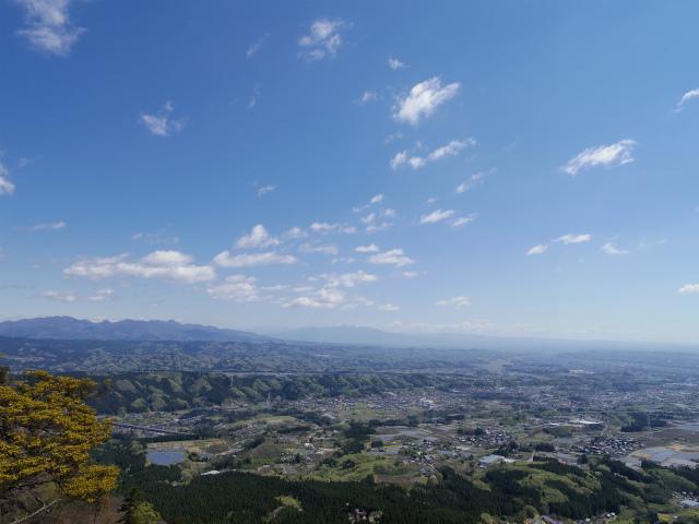 表妙義 白雲山(大の字~相馬岳)大の字からの展望【登山口コースガイド】