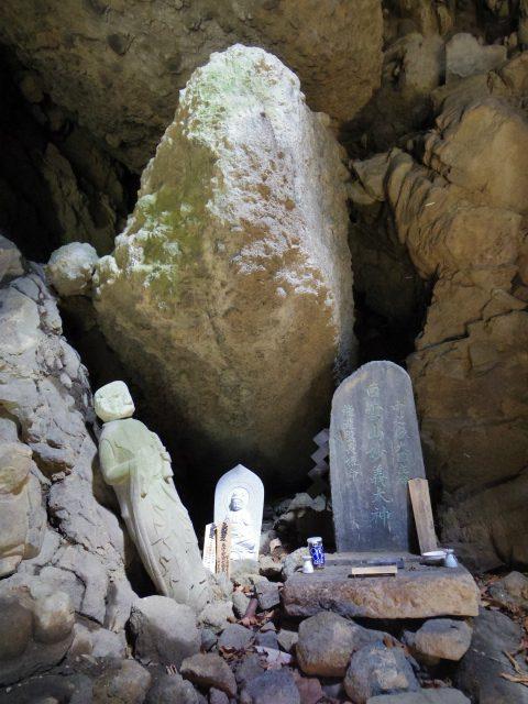 表妙義 白雲山(大の字~相馬岳)奥の院 石像【登山口コースガイド】