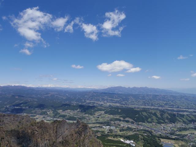 表妙義 白雲山(大の字~相馬岳)見晴からの奥志賀、谷川連峰、榛名山の眺望【登山口コースガイド】