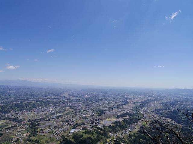 表妙義 白雲山(大の字~相馬岳)見晴からの赤城山、関東平野の眺望【登山口コースガイド】