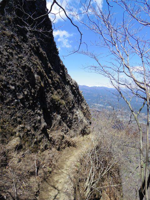 表妙義 白雲山(大の字~相馬岳)ビビリ岩鎖場【登山口コースガイド】
