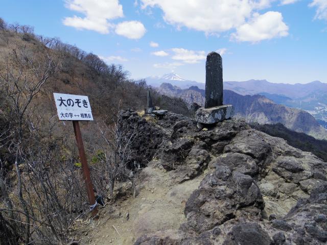 表妙義 白雲山(大の字~相馬岳)大のぞき【登山口コースガイド】