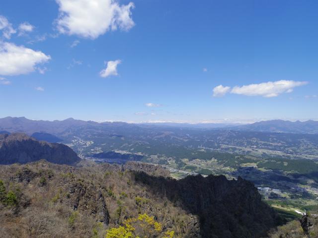 表妙義 白雲山(大の字~相馬岳)大のぞきからの展望【登山口コースガイド】