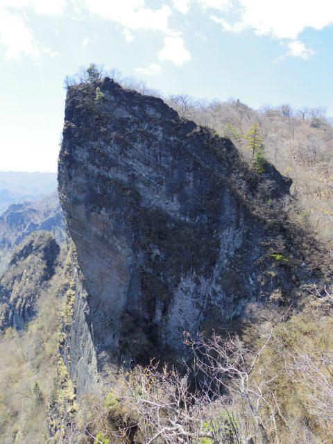 表妙義 白雲山(大の字~相馬岳)大のぞきから天狗岩の眺望【登山口コースガイド】