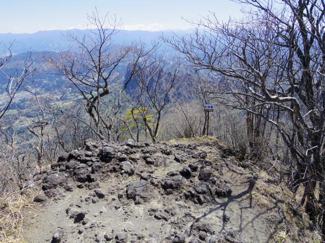 表妙義 白雲山(大の字~相馬岳)天狗岩頂上【登山口コースガイド】