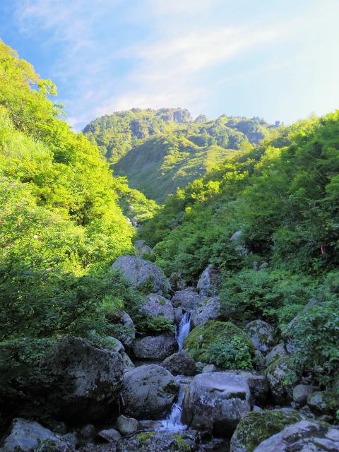 八海山(屏風道~新開道)清滝【登山口コースガイド】
