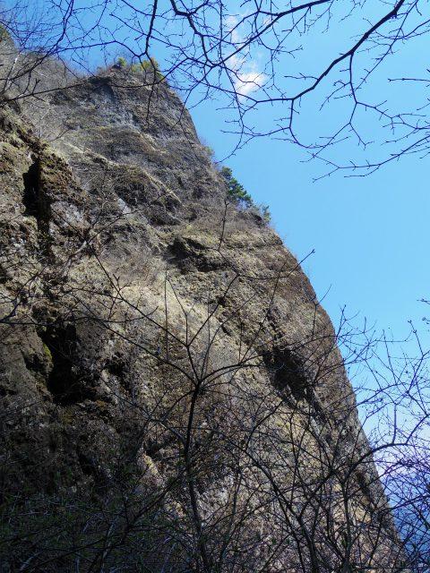 表妙義 白雲山(大の字~相馬岳)天狗岩の岩壁【登山口コースガイド】
