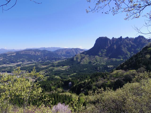 表妙義 白雲山(大の字~相馬岳)中間道第一見晴からの金鶏山【登山口コースガイド】