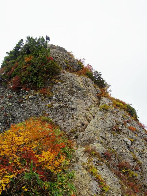 八海山(屏風道~新開道)摩利支岳鎖場【登山口コースガイド】