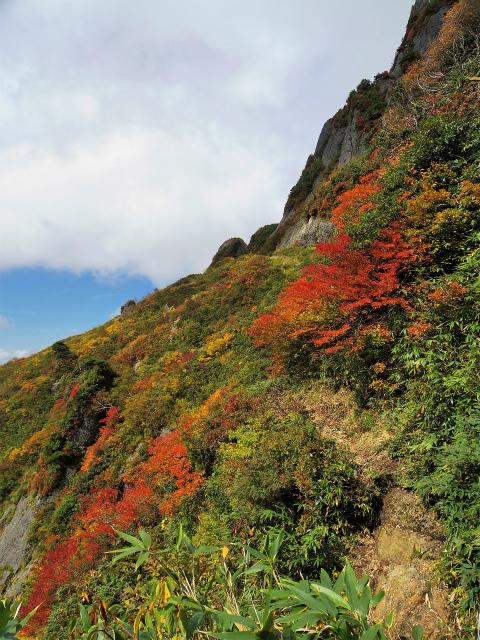 八海山(屏風道~新開道)新道トラバース【登山口コースガイド】