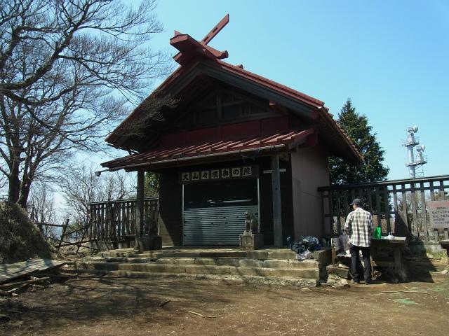 大山(ヤビツ峠~イタツミ尾根)大山山頂奥ノ院【登山口コースガイド】
