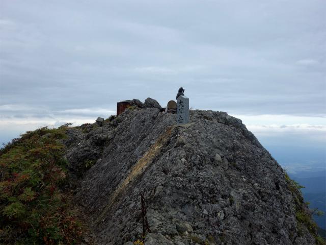 八海山(屏風道~新開道)大日岳山頂【登山口コースガイド】
