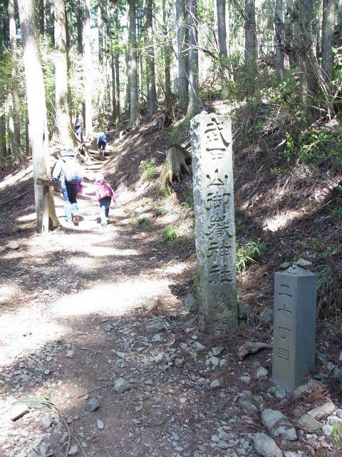 武甲山(表参道コース) 登山口コースガイド 二十丁目【登山口ナビ】