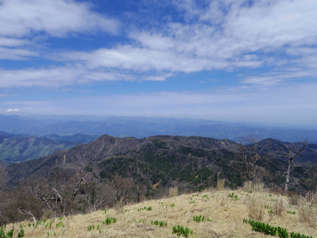 蛭ヶ岳(雷滝~市原新道)コースガイド 北尾根からの眺望【登山口ナビ】
