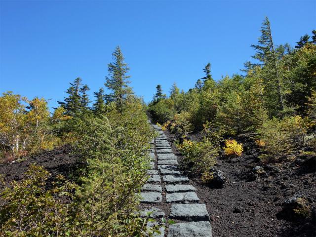 富士山 御中道(大沢崩れ) 登山口コースガイド 奥庭から御庭【登山口ナビ】