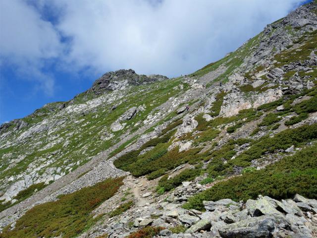 北岳(左俣コース)登山口コースガイド 南面【登山口ナビ】