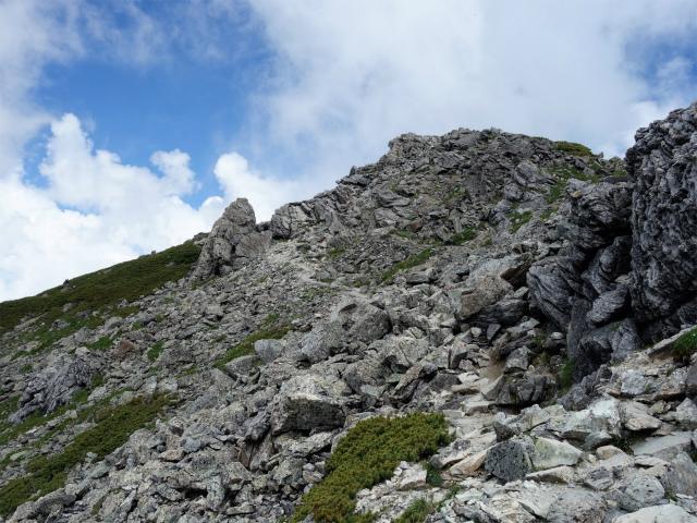 北岳(左俣コース)登山口コースガイド 下山コース【登山口ナビ】