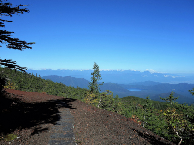 富士山 御中道(大沢崩れ) 登山口コースガイド 探勝路からの南アルプスの眺望【登山口ナビ】