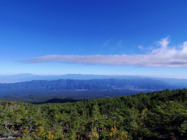 富士山 御中道(大沢崩れ) 登山口コースガイド 遊歩道から奥秩父山塊の眺望【登山口ナビ】