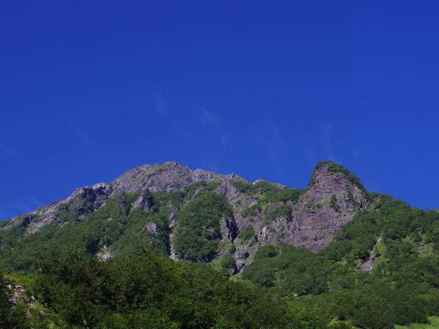 北岳(左俣コース)登山口コースガイド 大樺沢二俣からの北岳【登山口ナビ】
