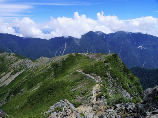 北岳(左俣コース)登山口コースガイド 小太郎尾根【登山口ナビ】