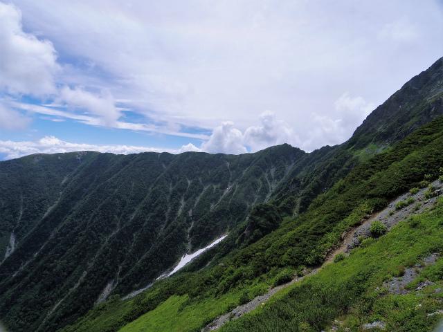 北岳(左俣コース)登山口コースガイド 右俣ルート分岐からの池吊尾根【登山口ナビ】